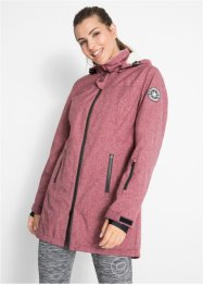 Funktions-Outdoorlangjacke mit Teddyfleece, bpc bonprix collection