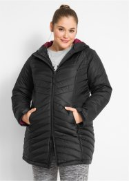 Funktions-Outdoorlangjacke mit Steppeinsatz, bpc bonprix collection