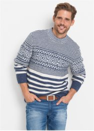 Pullover gemustert Regular Fit, bpc bonprix collection