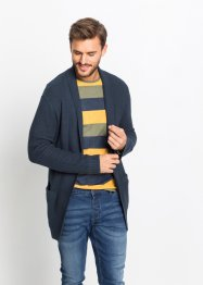 Lange Strickjacke Regular Fit, RAINBOW