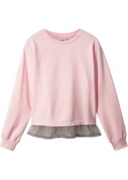 Sweatshirt mit Bluseneinsatz, bpc bonprix collection