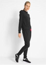Fleece-Hoodie mit Fleece-Hose (2-tlg.), bpc bonprix collection