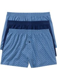 Lockere Jersey Boxershorts (3er- Pack), bpc bonprix collection