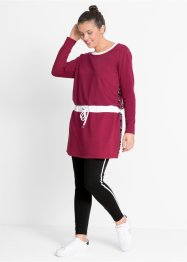 Long-Sweatshirt mit Sport-Leggings im Set, bpc bonprix collection