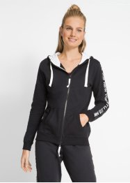 Baumwoll Sweatjacke, langarm, bpc bonprix collection