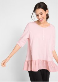 Long-Shirt mit Volantsaum, bpc bonprix collection