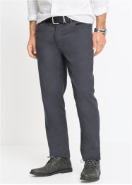 Stretch-Hose Minimalmuster Regular Fit, bpc selection