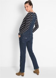 Umstands-Latzjeans, Straight, bpc bonprix collection