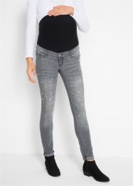 Umstandsjeans, mit Perlen verziert, bpc bonprix collection