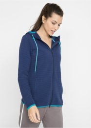 Gerippte Sweatjacke, langarm, bpc bonprix collection