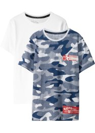 T-Shirt (2er-Pack), bpc bonprix collection