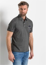 Poloshirt in gewaschener Optik, bpc selection