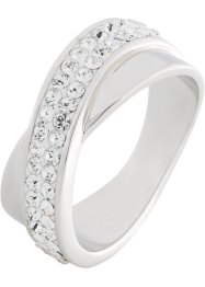 Ring veredelt mit Swarovski® Kristallen, bpc bonprix collection
