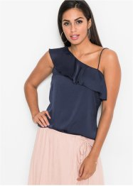 One-Shoulder-Top mit Volant, BODYFLIRT