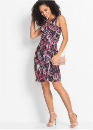 Mesh-Kleid in Wickeloptik, BODYFLIRT