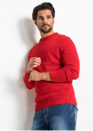 Pullover mit recycelter Baumwolle Regular Fit, John Baner JEANSWEAR
