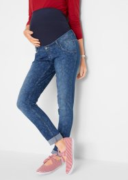 Umstands-Softjeans, bedruckt, SLIM, bpc bonprix collection