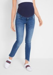 Umstandsjeans, Skinny, mit Fransen, bpc bonprix collection