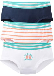Panty (3er-Pack) Bio-Baumwolle, bpc bonprix collection