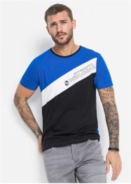 T-Shirt mit Reflektordetails Slim Fit, RAINBOW