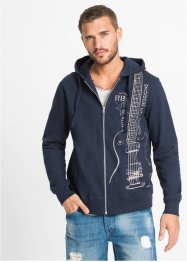 Kapuzen-Sweatjacke Slim Fit, RAINBOW