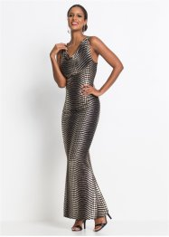 Kleid mit Metallic Print, BODYFLIRT boutique