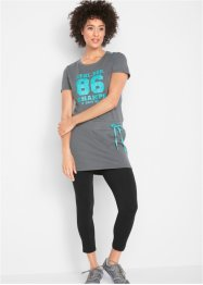 Longshirt mit Leggings, kurzarm, bpc bonprix collection