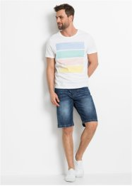 Schlupf-Bermuda, Slim Fit, RAINBOW