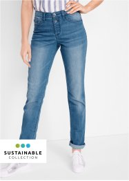 Nachhaltige Jeans aus Recycled Polyester, Slim Fit, bpc bonprix collection