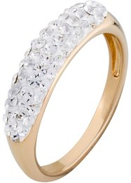 Ring mit Swarovski® Kristallen, bpc bonprix collection