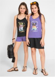 Tops + Shorts + Rock (4-tlg.Set), bpc bonprix collection