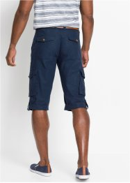Cargo-Long-Bermuda mit Leinen, bpc bonprix collection