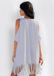 Strand Cut-Out-Shirt mit Fransen, bpc selection