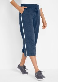 Stretch-Culotte-Sweathose, 3/4-Länge, bpc bonprix collection