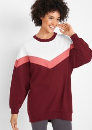 Oversize-Longsweatshirt, langarm, bpc bonprix collection