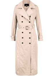Long-Trenchcoat mit Taillengürtel, bpc bonprix collection