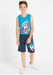 T-Shirt + Tanktop + Bermudas (4-tlg.), bpc bonprix collection