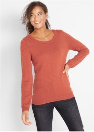 Strickpullover mit Struktur, bpc bonprix collection
