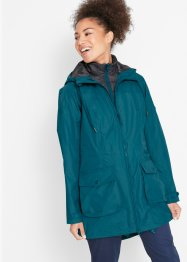 Funktions-Outdoor-3 in 1 Jacke mit Steppweste, bpc bonprix collection