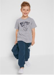 Jungen Jogginganzug (3-tlg. Set), bpc bonprix collection