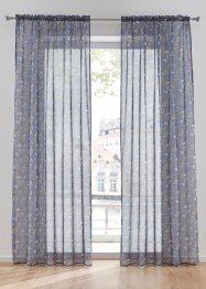 Transparente Gardine mit Feder Druck (1er Pack), bpc living bonprix collection
