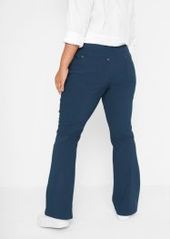 Bengalin-Stretch-Hose, Flared, bpc bonprix collection