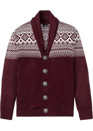 Strickjacke mit Norwegermuster, bpc bonprix collection