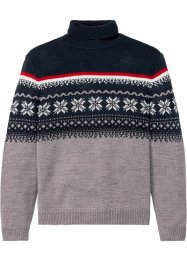 Norweger-Pullover mit Rollkragen, bpc bonprix collection