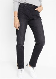 Jeans mit Komfortbund und Knopfdetail, bpc bonprix collection