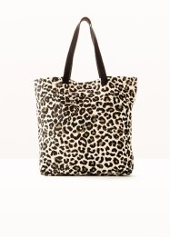 Textiltasche Leoprint, bpc bonprix collection