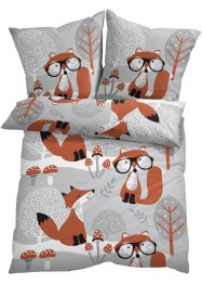 Bettwäsche mit Fuchs, bpc living bonprix collection