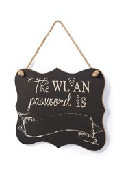 Deko Schild WLAN-Passwort, bpc living bonprix collection