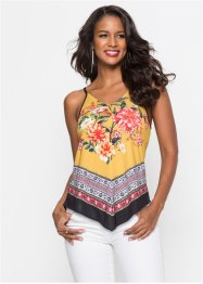 Spaghetti-Top mit Print, BODYFLIRT boutique