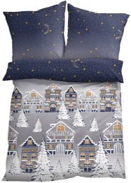 Bettwäsche mit winterlichem Design, bpc living bonprix collection